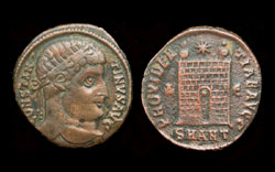 Constantine I, Campgate, Antioch Mint, Rare