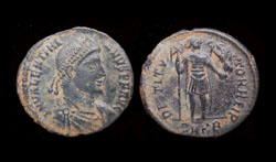 Valentinian I, Restitutor Reverse, Cyzicus Mint