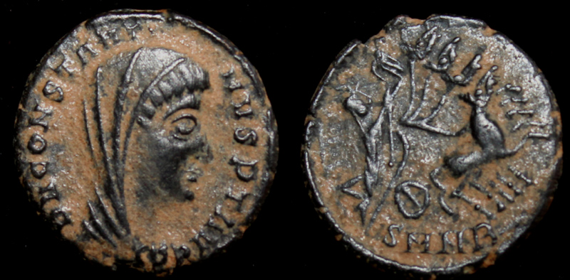 Constantine I, Memorial issue, Heraclea Mint
