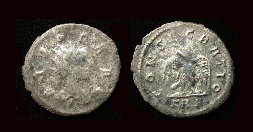 Carus, Posthumous Issue, Divo Caro, Silvered