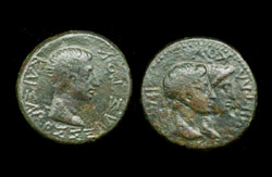 Thrace, Kings of - Rhoemetalkes I and Augustus