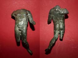 Statuette, Male, Bronze, c. 1st-3rd Cent