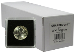 Quarter-sized 2x2 Snaplock Coin Holders