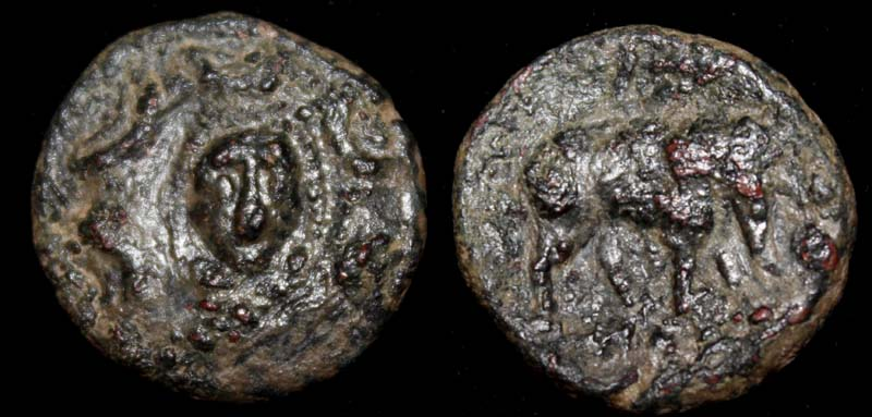 Seleucid, Antiochus III, Nymph and Elephant, c. 280-261BC