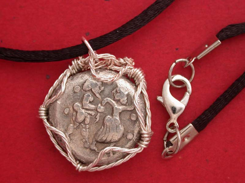 Satyr and Nymph Necklace