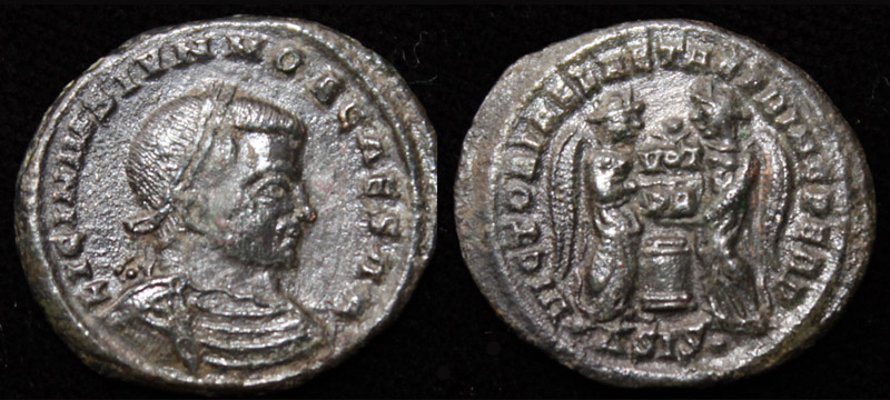 Licinius II (Jr) VLPP issue