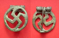 Brooch, Swastika Open-work, c. 1st-2nd Cent AD