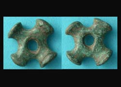 Celtic Proto Wheel Money, c. 700-400 BC, Rare Type!