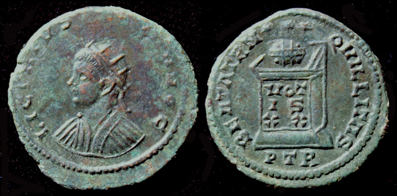 Licinius II, Æ3, Radiate, Unlisted and Unique