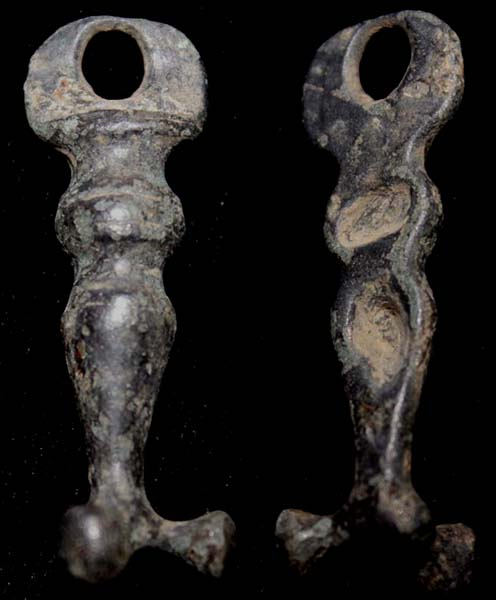 Harness, Strap Hanger, Tri-lobbed, c 2nd-3rd Cent
