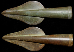 Bronze Age Socketed Spear Point, Urnfield Culture RF c. 1000 BC