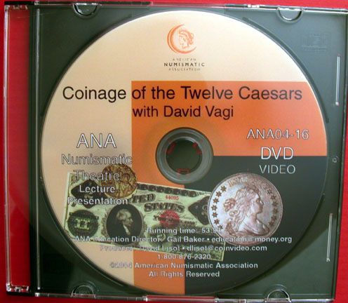 Coinage of the Twelve Caesars DVD