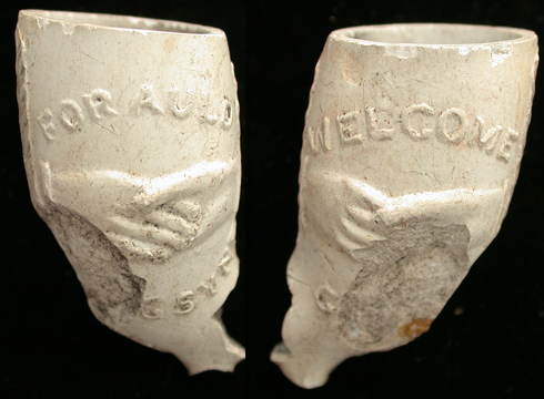 &#39Welcome&#39 US Civil War Pipe