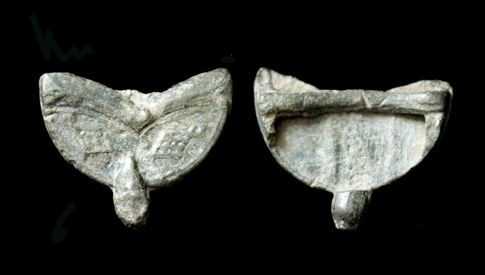 Strap/Belt End, Winged Phallus, 1st-3rd Cent.