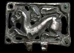 Avar, Belt Plate, Zoomorphic Griffin, c. 6th-7th Cent Sold!