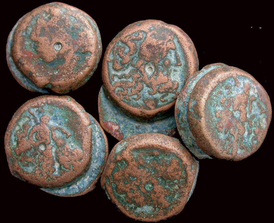 Fused Ptolemy Dynasty Hoard Coins